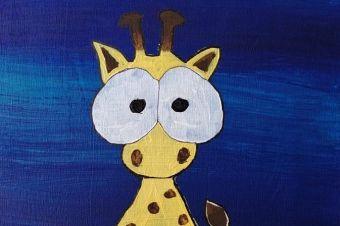 Junge_Kuenstler_Giraffe_Marla_9_Jahre